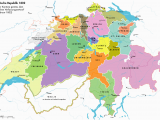 Aaa Europe Maps Helvetian Republic 1802 Aaa Karte Schweiz Kartographie