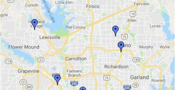 Addison Texas Map Dallas area Map Google My Maps
