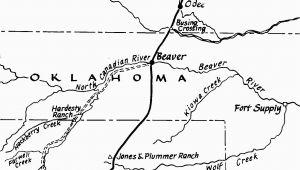 Adobe Walls Texas Map the Jones and Plummer Trail