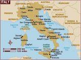 Adriatic Coast Italy Map Map Of Italy