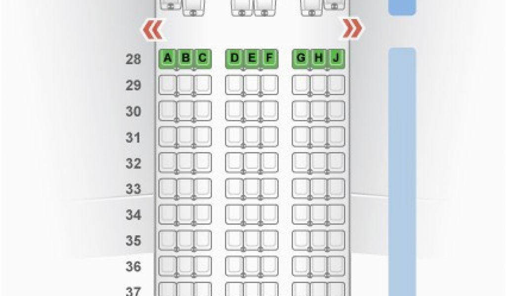Air Canada Seat Maps 777