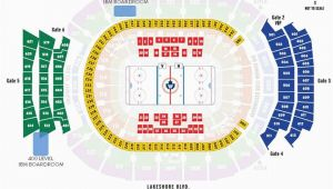 Air Canada Centre Gate Map 69 Explicit Air Canada Concert Seating Chart