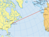 Air Canada Flight Route Map why are Great Circles the Shortest Flight Path Gis Geography