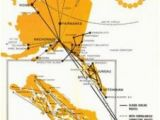 Air France Route Map 1984 World Map Climatejourney org