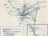 Air France Route Map Braniff International Route Map October 1965 Braniff International
