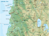 Albania On Map Of Europe Geography Of Albania Wikipedia