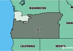 Albany oregon Zip Code Map where is area Code 541 Map Of area Code 541 Eugene or area Code