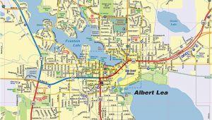 Albert Lea Minnesota Map Albert Lea Mn Map Interactive Map town Square Publications