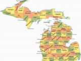 Alger Michigan Map Michigan Counties Map Maps Pinterest Michigan County Map and