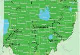Alliance Ohio Map Map Of Usda Hardiness Zones for Ohio