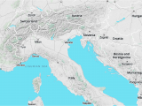 Alps In Europe Map Walkabout Map Style A Mapzen