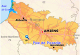 Amiens France Map Poix De Picardie area Of France where My Terrell Ancestors are Said