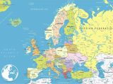 Amsterdam On Europe Map Map Of Europe Wallpaper 56 Images
