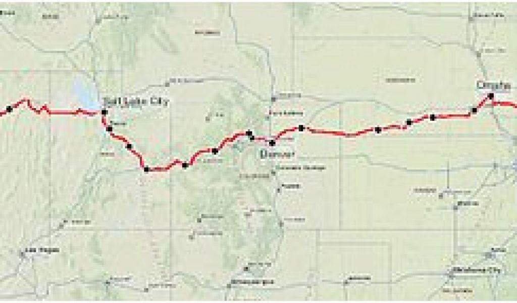 Map Of California Zephyr Route.Amtrak California Zephyr Route Map California Zephyr Revolvy