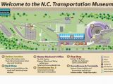Amtrak north Carolina Map Nc Transportation Museum Map Of the Museum