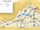 Amtrak north Carolina Map Railroads Of Virginia