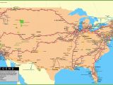 Amtrak north Carolina Map Usa Railway Map