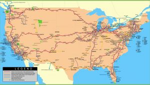 Amtrak north Carolina Map Usa Railway Map
