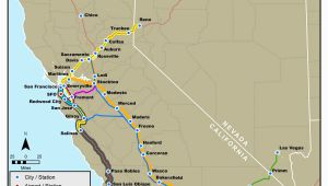 Amtrak Train Map California California Amtrak Route Map Www Bilderbeste Com