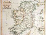 Ancient Map Of Ireland Map Of Ireland In 1800 Russell Maps Map Historical Maps
