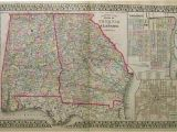 Antique Map Of Alabama Prints Old Rare Alabama Antique Maps Prints