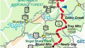 Appalachian Trail In Tennessee Map 14 Best Appalachian Trail Georgia Images Hiking Trails