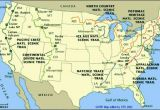 Appalachian Trail north Carolina Map Appalachian Mountains On Map Of Usa and Travel Information