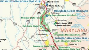 Appalachian Trail Tennessee Map Georgia Appalachian Trail Map Pdf Secretmuseum