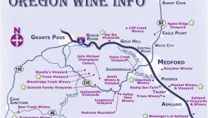 Applegate Valley oregon Map southern oregon Wineries Map Secretmuseum