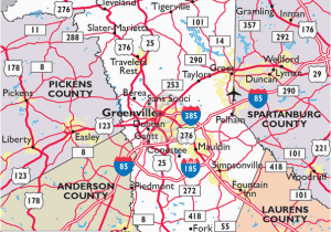 Area Code Map Of north Carolina Maps Of Greenville County south Carolina