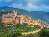 Assisi Umbria Italy Map Umbria Italy Best Hill towns and Places to Go