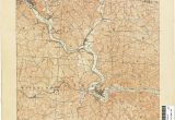 Athens County Ohio Map Ohio Historical topographic Maps Perry Castaa Eda Map Collection