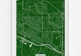 Atwater California Map atwater California Street Map Print Modern and Walls