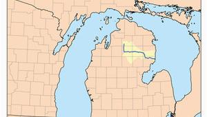 Au Sable River Michigan Map Au Sable River Revolvy