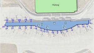 Austin Texas Airport Terminal Map Austin Bergstrom Aus Airport Terminal Map