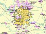 Austin Texas area Code Map Austin S Black Population Growing Again Austin Monitoraustin Monitor