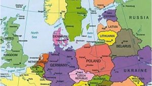 Austria On Map Of Europe Map Of Europe Countries January 2013 Map Of Europe