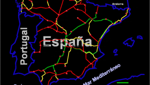 Ave Map Spain File Ave Diciembre2006 Png Wikimedia Commons