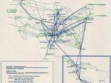 Aviation Maps Canada Braniff International Route Map October 1965 Braniff International