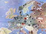 Axis and Allies 1940 Europe Map Sam Jones Samjones39948 On Pinterest