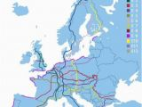 Backpacking Europe Map E8 Long Trail In Europe 9 Countries 2290 Miles From