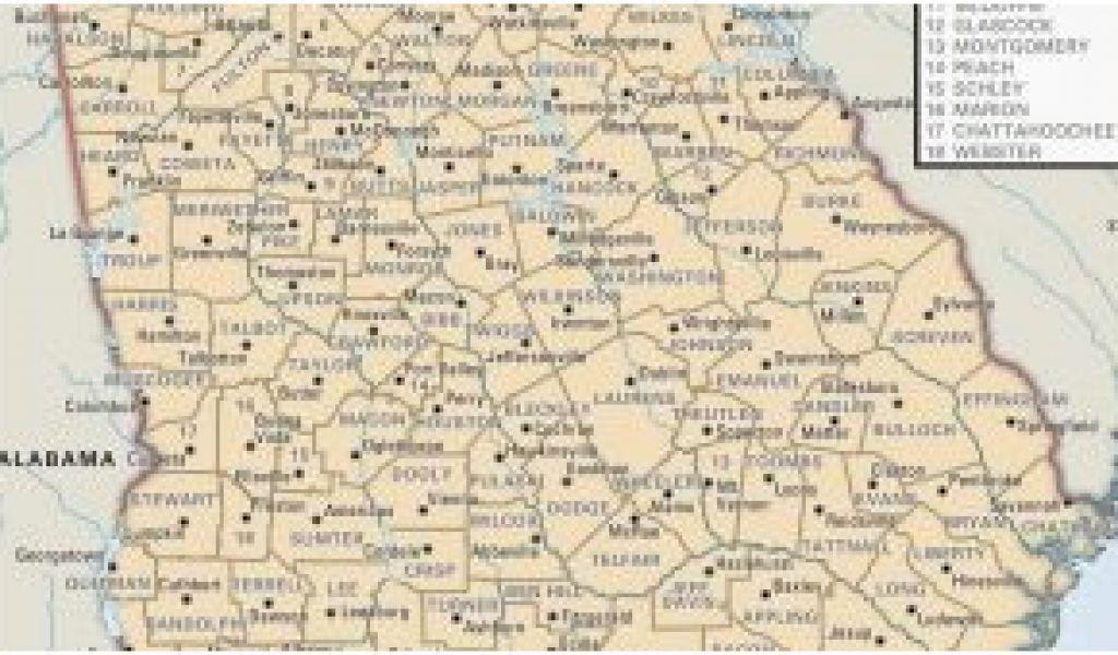 Map Of Georgia Universities.Bainbridge Georgia Map Universities In Georgia Map Secretmuseum