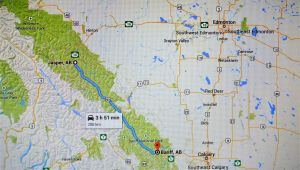 Banff Canada Maps Google Jasper Vs Banff In the Canadian Rockies