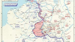 Battle Of France 1940 Map Map Map Noting German Advances In France and the Low Countries