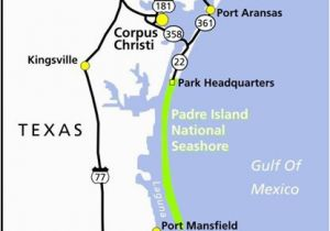Beaches In Texas Map Maps Padre island National Seashore U S National Park Service