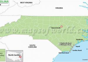 Carolina Beach Nc Map on
