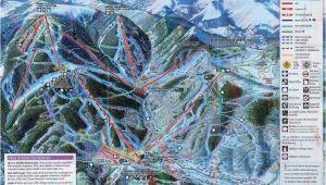 Beaver Creek Colorado Trail Map Beaver Creek Piste Map Trail Map High Res