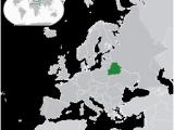 Belarus On Map Of Europe Belarus Wikipedia