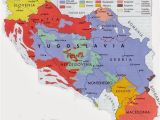 Belgrade Serbia Map Of Europe Yugoslavia Map Historic Flags Maps Historical Maps