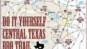 Best Bbq In Texas Map Texas Bbq Trail Map Business Ideas 2013